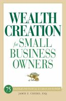 Wealth Creation for Small Business Owners