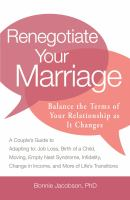 Renegotiate Your Marriage
