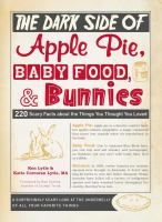 The Dark Side of Apple Pie, Baby Food, & Bunnies