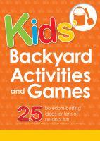 Kids' Backyard Activities and Games