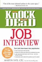 Knock 'em Dead Job Interview