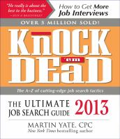 Knock 'em Dead 2013