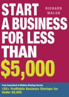 Start A Business for Less Than $5,000