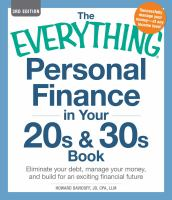 The Everything Personal Finance in your 20s and 30s Book