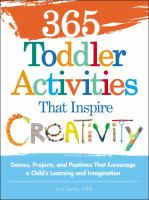 365 Toddler Activitiesthat Inspire Creativity