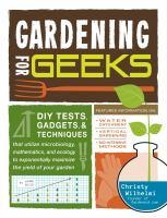Gardening for Geeks