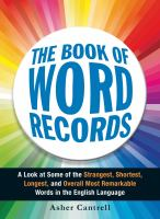 Book of Word Records