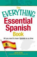 Everything Essential Spanish Book