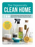 The Organically Clean Home