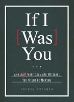 If I [was] You