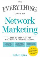 The Everything Guide to Network Marketing