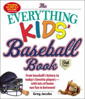 Everything Kids' Baseball Book