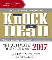 Knock 'em Dead, 2017
