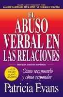 El abuso verbal en las relaciones