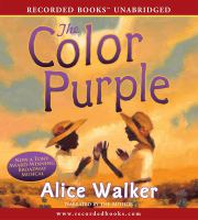 Color Purple (Book On CD)