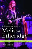 The Words and Music of Melissa Etheridge