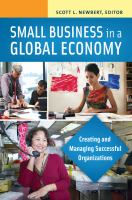 Small Business in A Global Economy