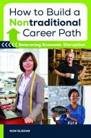 How to Build A Nontraditional Career Path