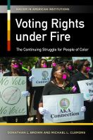 Voting Rights Under Fire
