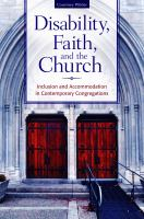 Disability, Faith, and the Church