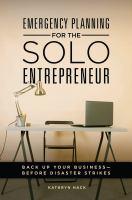 Emergency Planning for the Solo Entrepreneur