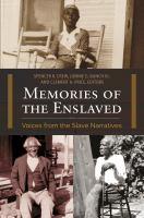 Memories of the Enslaved