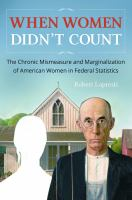When Women Didn't Count