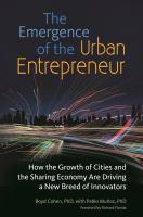 The Emergence of the Urban Entrepreneur