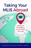 Taking your MLIS Abroad