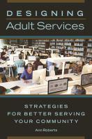 Designing Adult Services