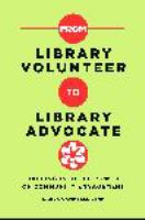 From Library Volunteer to Library Advocate