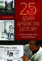 25 Events That Shaped Asian American History