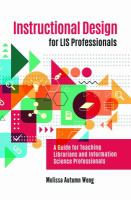 Instructional Design for LIS Professionals