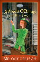 Allison O'Brian on Her Own