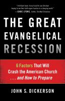 The Great Evangelical Recession