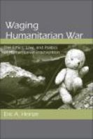Waging Humanitarian War