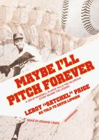 Maybe I'll Pitch Forever