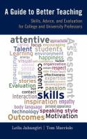 A Guide to Better Teaching
