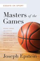 Masters of the Games