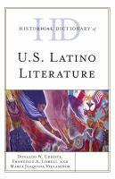 Historical Dictionary of U.S. Latino Literature