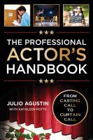 The Professional Actor's Handbook