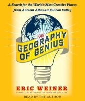 The Geography of Genius