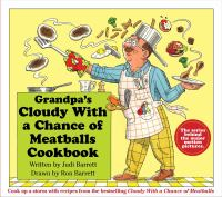 Cloudy with a Chance of Meatballs cookbook
