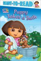Puppy Takes A Bath