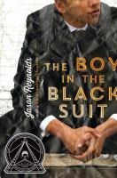 Boy in the black suit