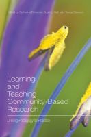 Learning and Teaching Community-based Research