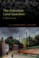 The Suburban Land Question