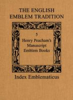 The English Emblem Tradition