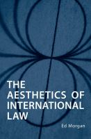 The Aesthetics of International Law