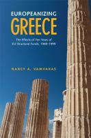 Europeanizing Greece